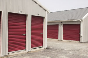 White and Red Self Storage